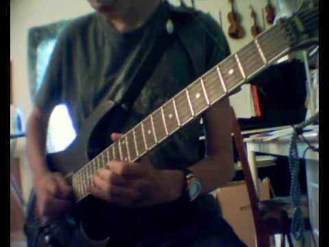 Thy Light - And I finally reach my end - guitar solo cover mp3