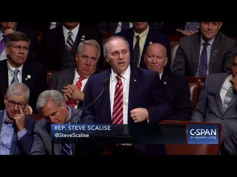 Steve Scalise returns to Congress for first time since he was shot