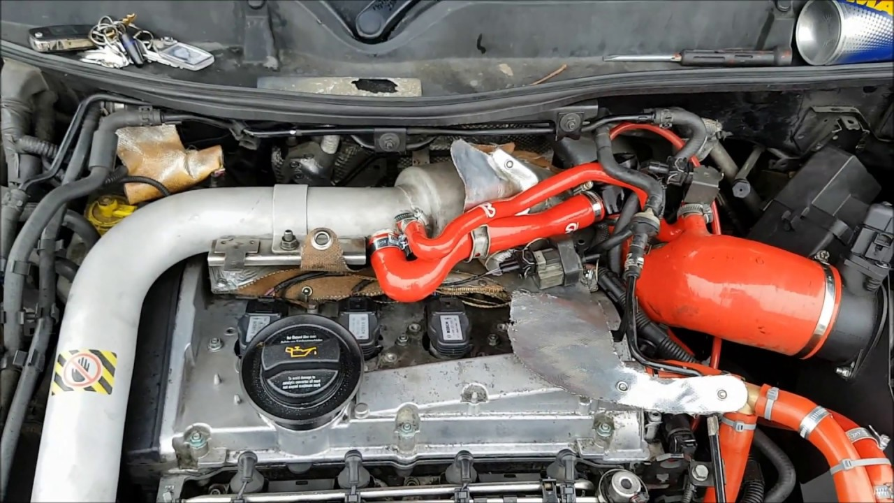 N75 And Diverter Valve Silicone Pipe Upgrade 1 8t Vw