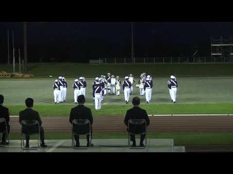 防衛大学校儀仗隊ファンシードリル(令和元年度9月月例観閲式訓練)