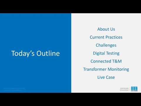 Webinar! Digitalisation - New Normal In Electrical Testing And Transformer Monitoring.