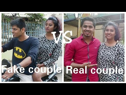 Fake couple vs Real couple - How he got his first Girlfriend