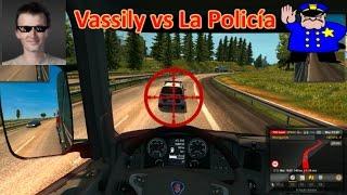 EURO TRUCK SIMULATOR 2 (PC) - Vassily vs La Policía || Gameplay en Español