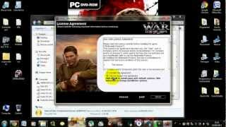 "Come installare e craccare ""MEN OF WAR CONDEMNED HEROES"" PC"