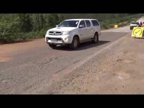 0780 Ride to Zimbabwe Border Near Manica Mozambique, 5 3 2016