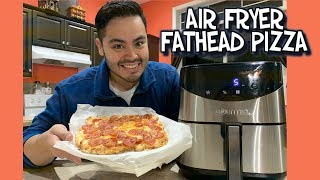 Air Fryer Low Carb FatHead Pizza