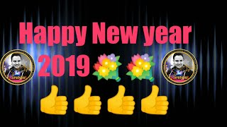 Wish u all very happy new year 2019 wishes of new year 2019
