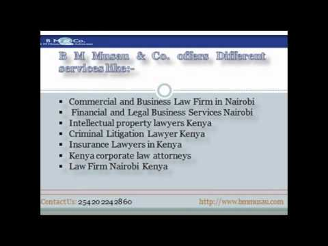 Financial and Legal Business Service Nairobi