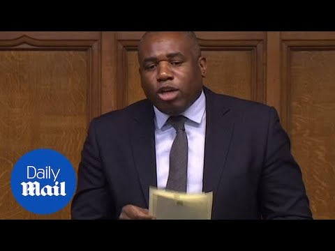 David Lammy MP criticises Home Secretary for Windrush scandal response