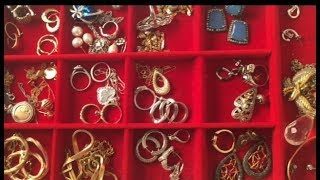 My Fine Jewelry Collection and Storage 2018