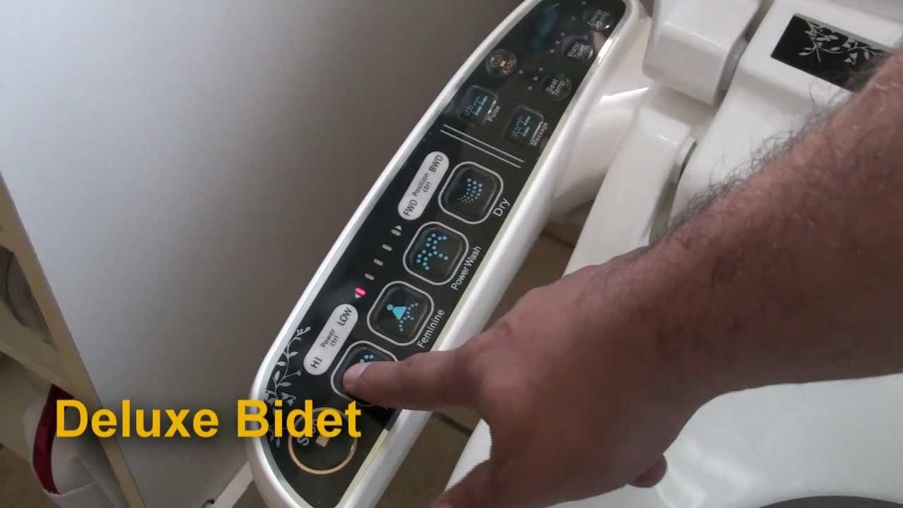 Deluxe Bidet Autolimpieza By Rioneva Youtube