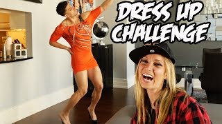 Repeat youtube video DRESS UP CHALLENGE!!!
