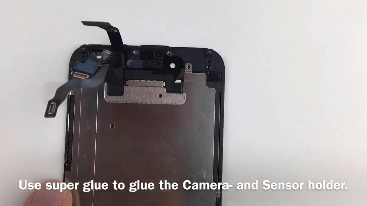 iphone 6 display lcd wechseln tauschen reparieren repair. Black Bedroom Furniture Sets. Home Design Ideas