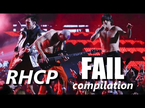 Red Hot Chili Peppers FAIL compilation | RockStar FAIL