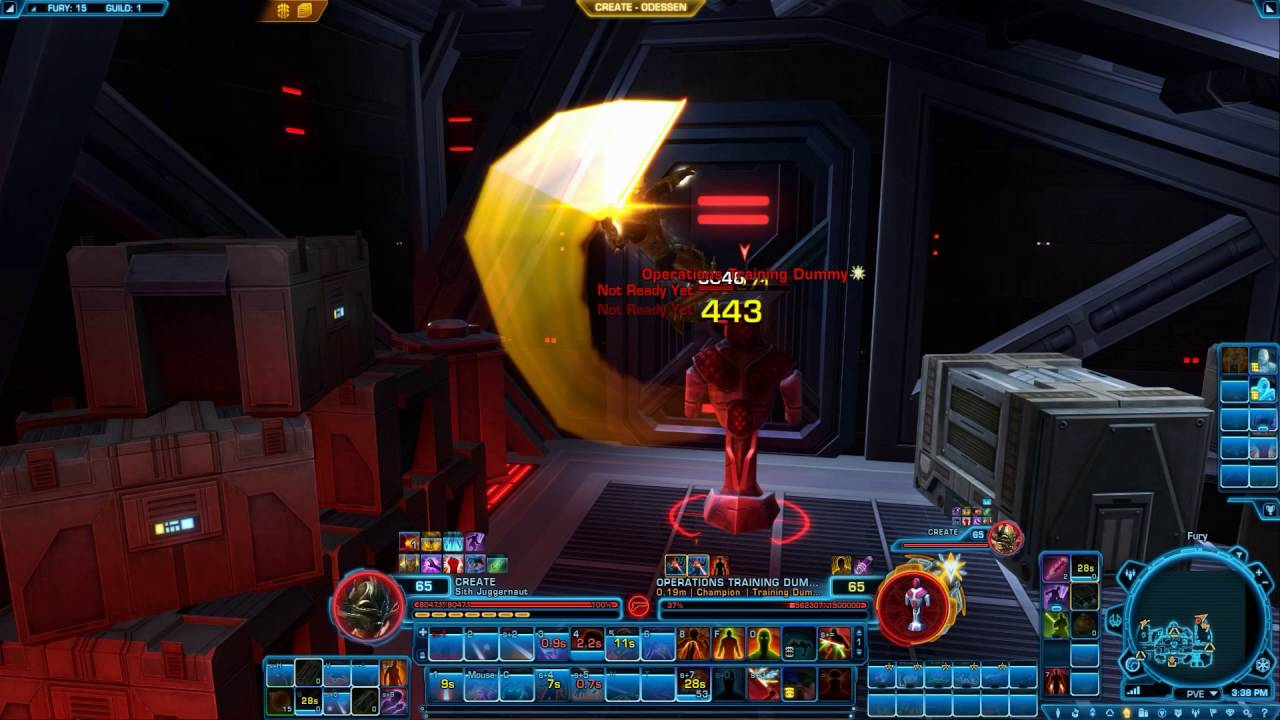 SWTOR 4 0 Vengeance Juggernaut PvE Guide By Roscoe - Dulfy