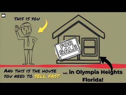 Sell My House Fast Olympia Heights: We Buy Houses in Olympia Heights and South Florida