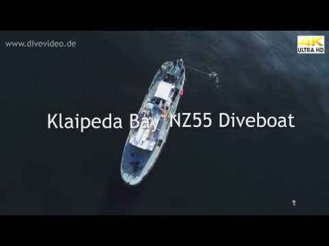 Diving in Baltic Sea with NZ55