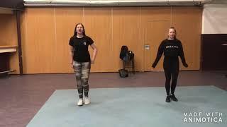 dansje 3 van Janneke en Maya