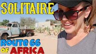 Route 66...or Namibia?! Solitaire Junk Car Graveyard and Travel Stop