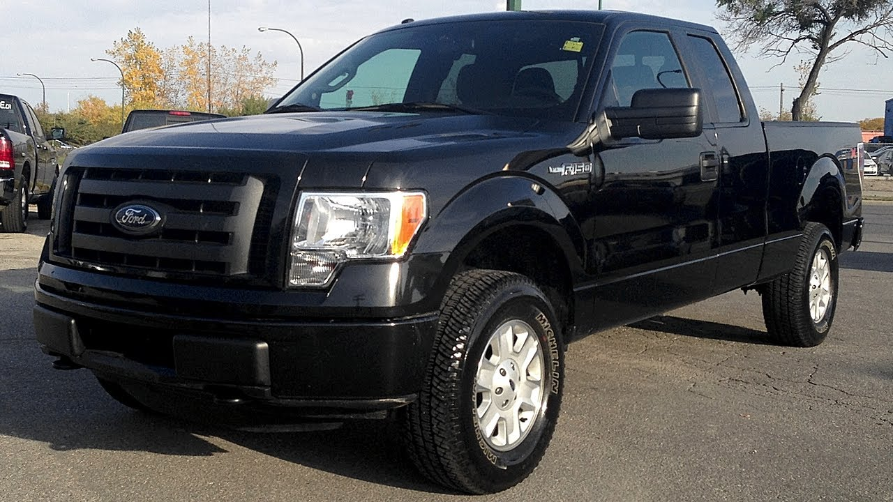 2012 Ford F 150 Stx Winnipeg Mb 4x4 3 7l V6 Tow Spray Liner From Ride Time Youtube