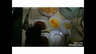 How to make Kek Batik