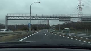[車載動画2019-02-11]E27舞鶴若狭自動車道「吉川JCT→敦賀JCT」