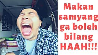 Makan Samyang Bon Cabe Lv 30 Tanpa Bilang HAAH