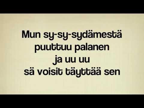 Robin - Puuttuva palanen, acoustic KARAOKE/INSTRUMENTAL version