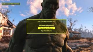 Video Fallout 4 - Construct a Custom Super Mutant download MP3, 3GP, MP4, WEBM, AVI, FLV Juni 2018