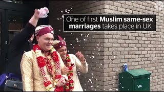 One of first Muslim same-sex marriages takes place in UK