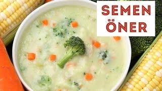 Kremalı Sebze Çorbası - Semen Öner