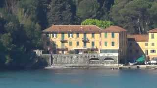 Ligurien coast. Rapallo. Italy HD.