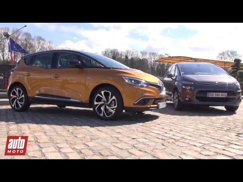 2016 Renault Scenic 4 vs. Citroën C4 Picasso [COMPARATIF] : intérieur, design...