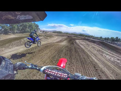 Payback Time - Beating a Girl on Her Bike - Honda CRF250R
