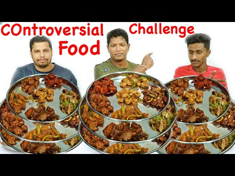 """""""CONTROVESIAL CHALLENGE"""" 6 TYPES OF DRY PRAWNS EATING 