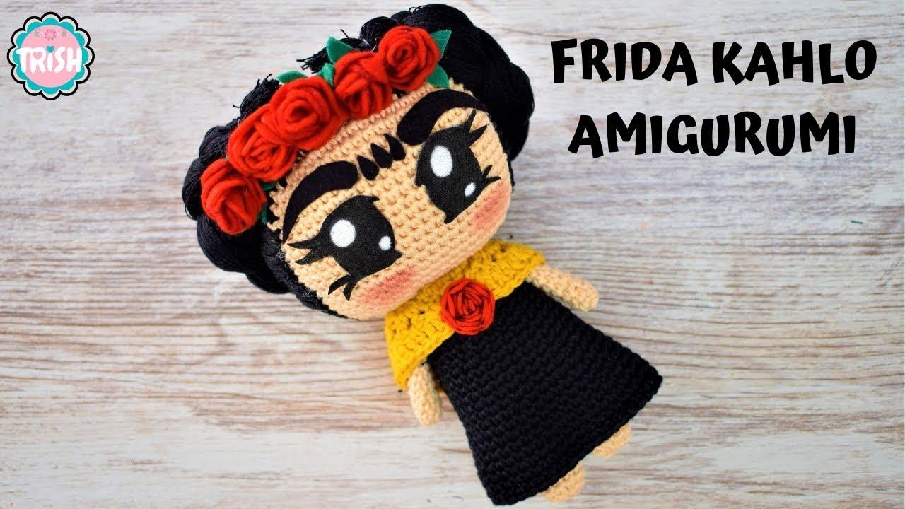 Costurero Frida kahlo @amigurumis.anayanci | Muñeca amigurumi ... | 720x1280