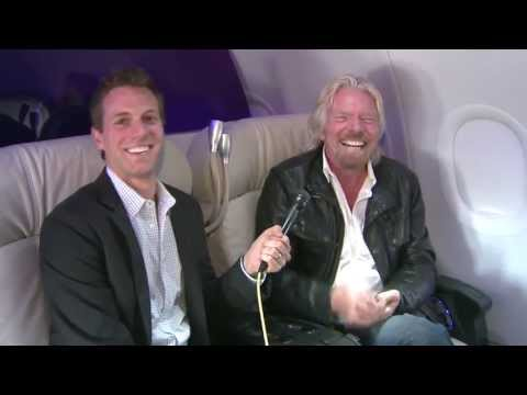 Sir Richard Branson talks about Virgin, space & what industry he will disrupt next