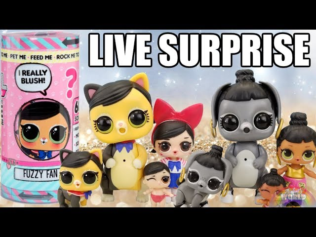 LOL SURPRISE DOLL LETS BE FRIENDS NEON QT SERIES 2 WAVE 1 BIG SIS IN HAND  sd