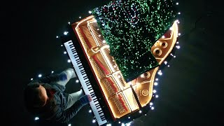 88 Piano Keys Control 500 000 Christmas Lights I