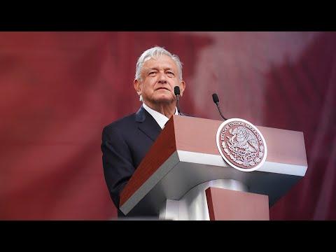 A un año del triunfo electoral. Presidente AMLO
