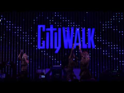 "Danity Kane- ""Rhythm of Love"" CityWalk"