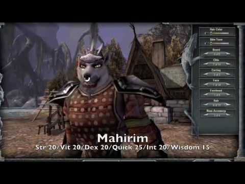Darkfall Character Creation - Races and Stats