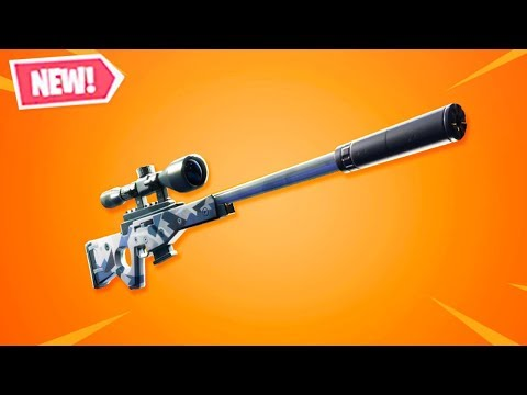 """NEW """"SUPPRESSED SNIPER RIFLE"""" in Fortnite! thumbnail"""