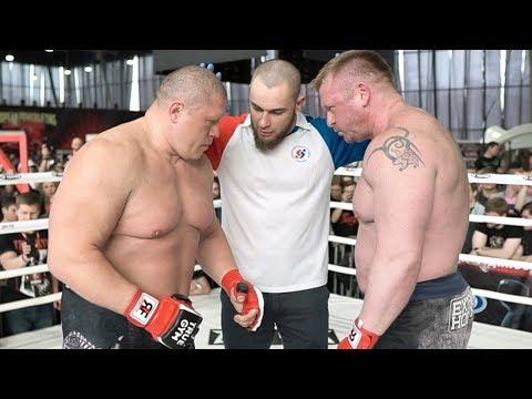 Бой Максим Новоселов против Игоря Кузнецова / Вбил голову в ринг