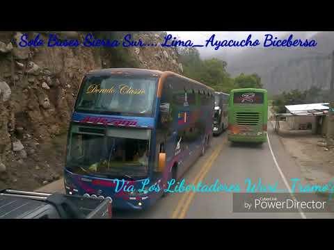 Solo Buses Sierra Sur...Lima_Ayacucho.2017