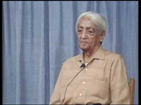 J. Krishnamurti - Brockwood Park 1985 - Public Talk 4 - The nature of the brain that lives...