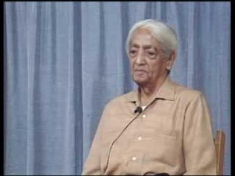 J. Krishnamurti - Brockwood Park 1985 - Public Talk 4 - The nature of the brain that lives...