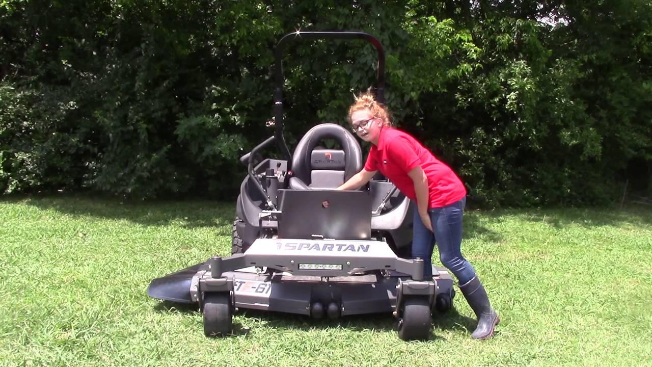 Spartan SRT-XD Zero Turn Mower 61