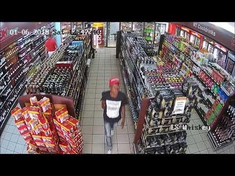 Sneaky  liquor thieves