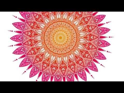 How To Draw And Colour Mandala On Procreate | Ipad Pro | Tutorial